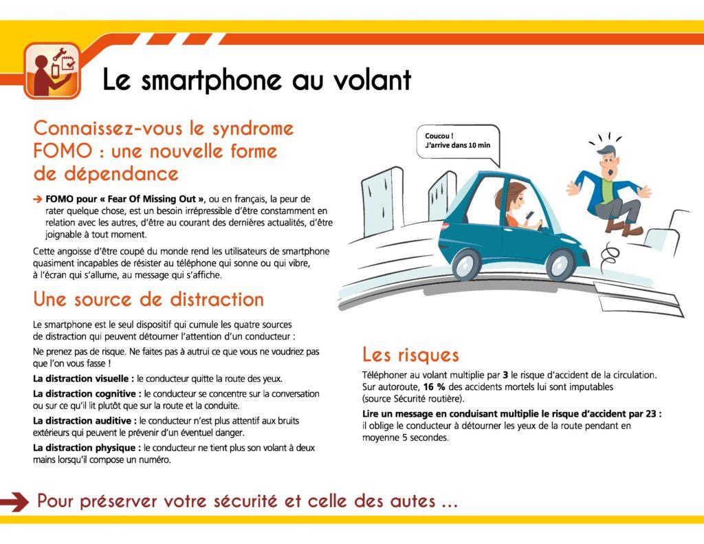 sécurité routière, le portable au volant  - centaure