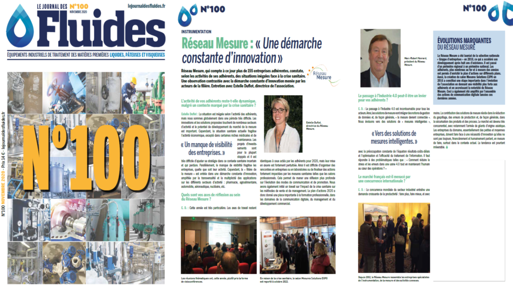 article journal des fluides 2020