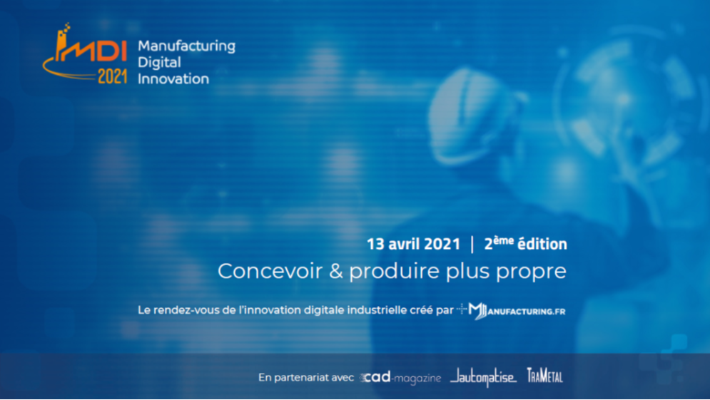 Manufacturing Digital Innovation (MDI) 13 04 2021