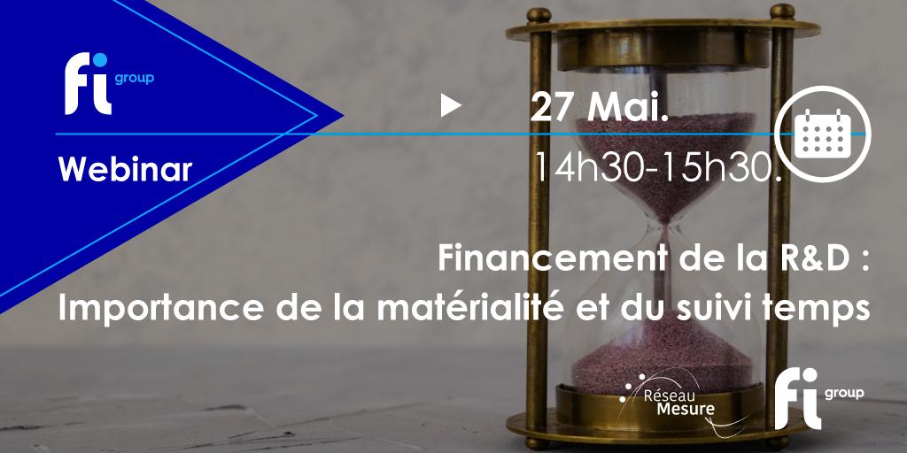 Financement de la R&D :Importance de la matérialité et du suivi temps