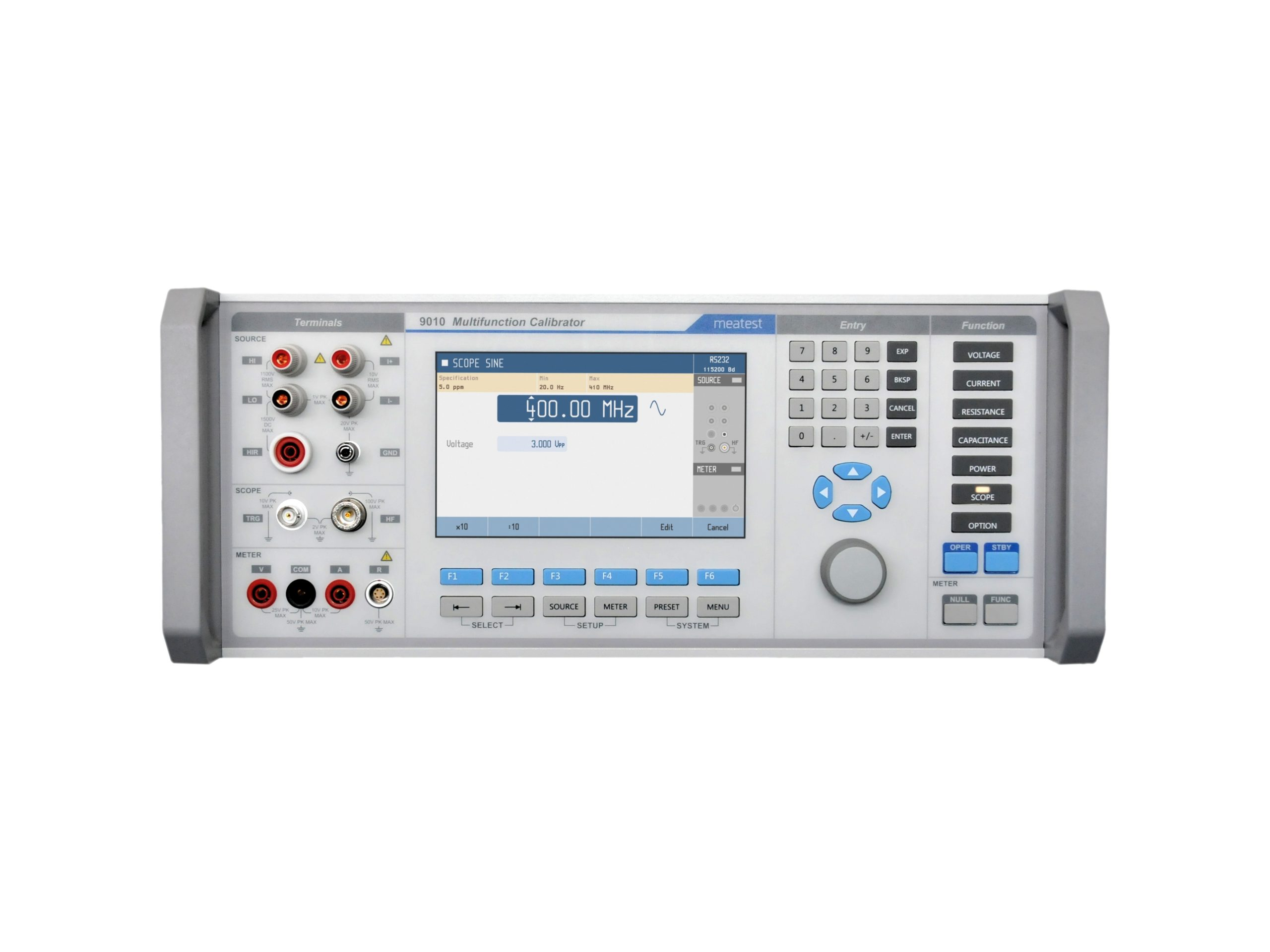 Meatest et ACALIME présentent un nouveau Calibrateur multifonctions de laboratoire 9010 de 35 ppm